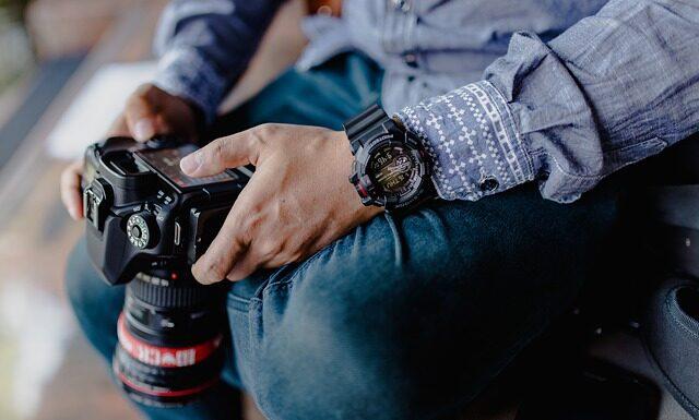fotograf w okresie kwarantanny